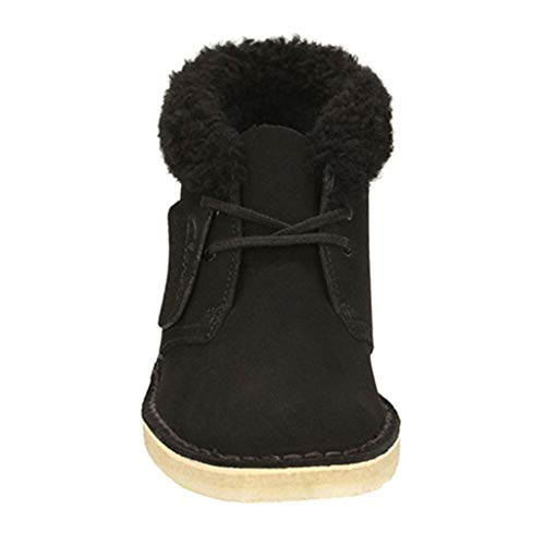 Invernali Black Pizzo Passeggio Camping Black color Inghilterra Sportive Size E Di Donna Vintage Scarpe Casuali 37 Calzature Da Outdoor Stivaletti Casual 0xq4RPOS