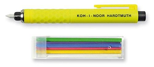 KOH-I-NOOR Tailor's Chalk S128PN8004BL, Plastic, 13x 1.3x 1.3cm, Assorted by Koh-I-Noor by Koh-I-Noor