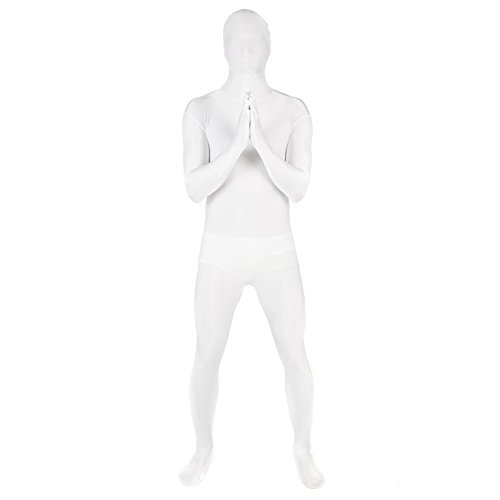 Original Morphsuit Fancy Dress Costume ,White, Large -