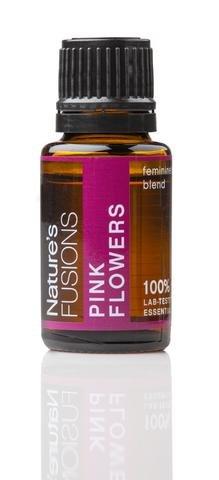 NATURES FUSIONS Pink Flowers (Feminine), 15 ML