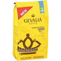 Gevalia Kaffe Coffee Traditional Roast Whole Bean, 12 oz. (Pack of 2)