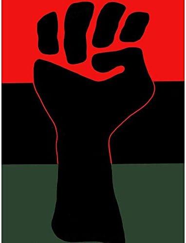 ポスター プロパガンダ政治的公民権ブラックパワーフィストアフリカ系アメリカ人米国 A3サイズ [インテリア 壁紙用] 絵画 アート 壁紙ポスター