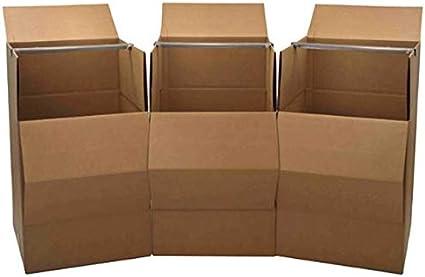 Amazon.com: Paquete de 3 cajas para mudanza: Office Products