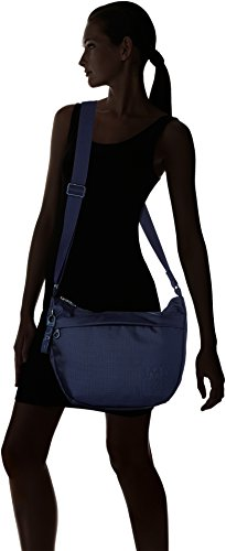 Mandarina Duck Md20 Tracolla - Shoppers y bolsos de hombro Mujer Azul (Dress Blue)