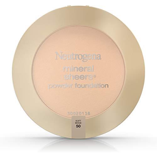 Neutrogena Mineral Sheers Powder Foundation, Soft Beige 50, 0.34 - Soft Foundation