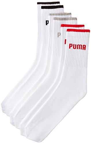 PUMA Men #39;s Mid Calf Length Crew  Socks Pack of 3
