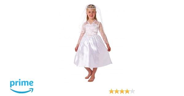 Christy`s - Disfraz de novia para niña, talla 3-5 años (995020): Amazon.es: Juguetes y juegos