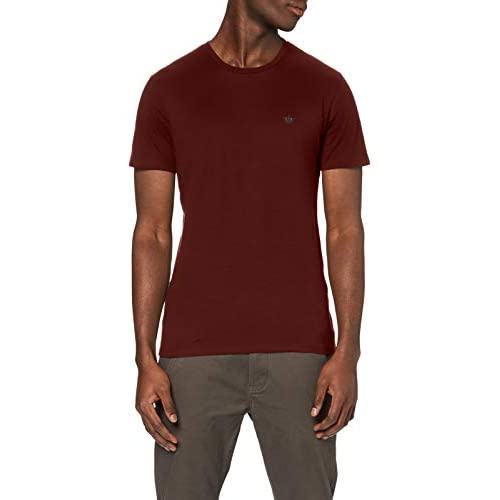 chollos oferta descuentos barato Dockers Pacific Crew tee Camiseta Chestnut Red XL para Hombre