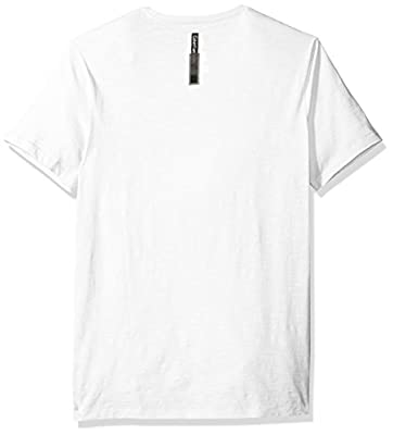 Calvin Klein Jeans Men's Short Sleeve Vertical Logo Crew Neck T-Shirt