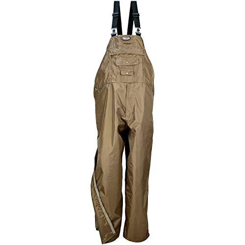 Nite Lite Outdoor Gear Men's Pro Un-Insulated Bibs (Brown, Large (38-40x32 Regular)
