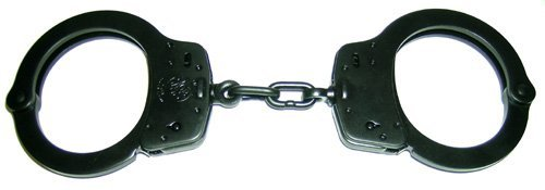 Nickel Finish Handcuffs - Smith and Wesson Model 100M Melonite Finish Handcuffs