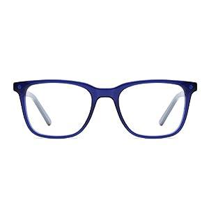 TIJN Classic Acetate Square Non-prescription Eye Glasses Spectacles Frames