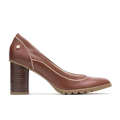 - Hush Puppies Spaniel Pump Women 6.5 Dachshund Leather