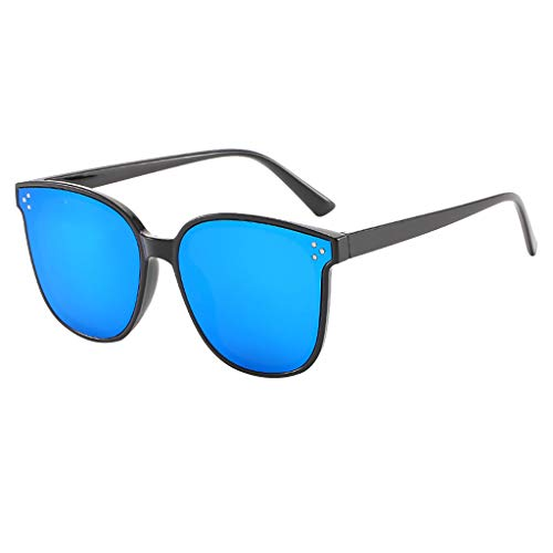 TIANMI Women's Lightweight Oversized Fashion Sunglasses - Mirrored Polarized ()