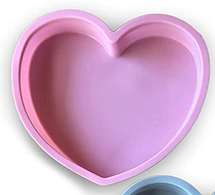TTH - Molde de Silicona para Tartas, diseño de corazón