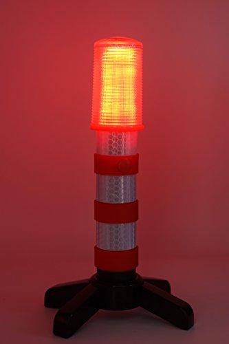 Led Strobe Lights For Trucks >> 2 LED Emergency Road Flares Red Roadside Beacon Safety ...