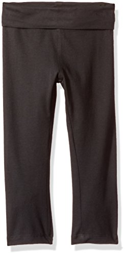 - Clementine Apparel Toddler Yoga Pants for Girls, Black, 4T