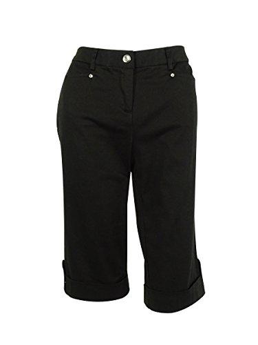 直接ロマンス容赦ないJMコレクションレディース快適ウエストCropped Pants