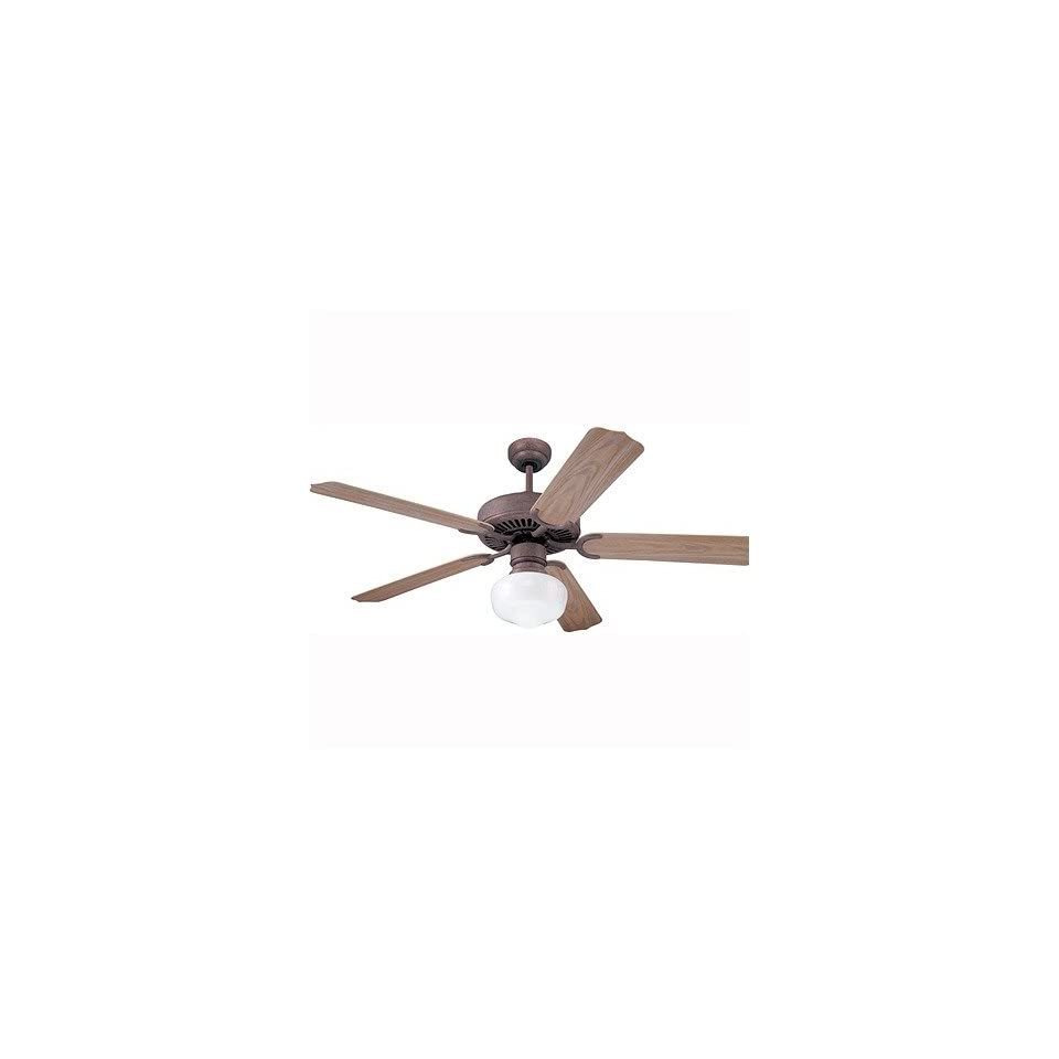 Carlo Fan Company 5WF52OC 52 Weatherford Ceiling Fan in Old Chicago