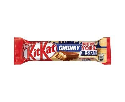 KITKAT Chunky New York Cheesecake Chocolate Bar 42g x 12