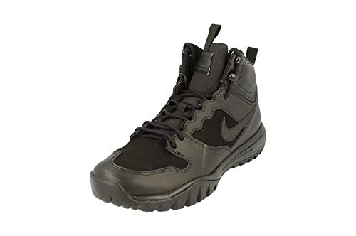 Nike Dual Fusion Hills Men's Lace-up Boots (10 D(M) US, Black/Black) (Tactical Boot Nike)