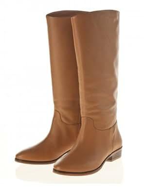 flip*flop - Botas de cuero para mujer marrón marrón 39