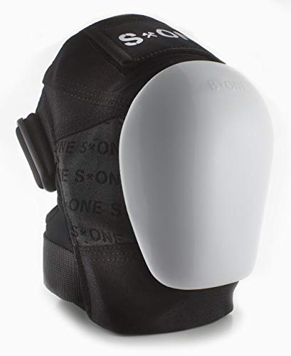 S-ONE GEN 3 PRO Knee Pads - White Cap (Small : Top of Knee 14''-15''; Bottom Knee 12''-13'') by S-ONE (Image #4)