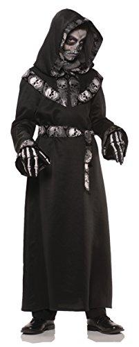 Skull Master Costume - Medium (Last Minute Halloween Costume)