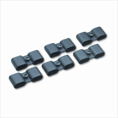 Safco Products Safco Contour Stack Chair Connector - Black