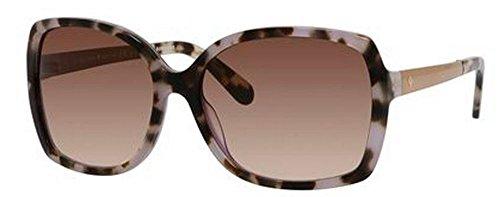 Kate Spade Women's Darilynn Square Sunglasses, Tortoise Lavender & Brown Gradient, 58 - Sunglasses Lavender