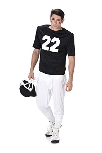Men's Football Player Costume - for Halloween Party Accessory - Medium -