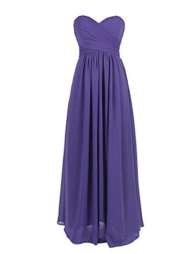 Dresstells Floor Length Chiffon Prom Dress Bridesmaid Dress Cocktail Dress Mint Size 8