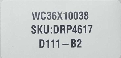 GE WC36X10038 Trash Compactor Body Screw #8 3/8
