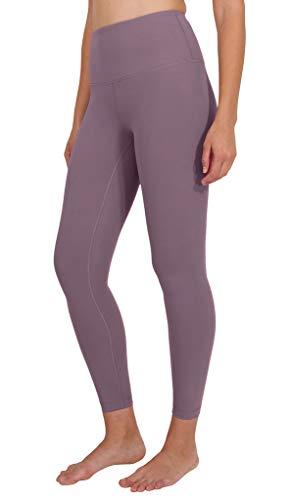 90 Degree By Reflex High Waist Power Flex Legging - Tummy Control - Vintage Lilac Ankle - Small