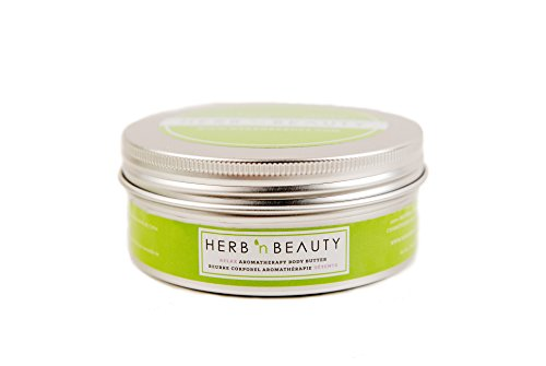 Herb N' Beauty Lavender and Bergamot RELAX Aromatherapy Body Butter, 250 - Herb Bergamot