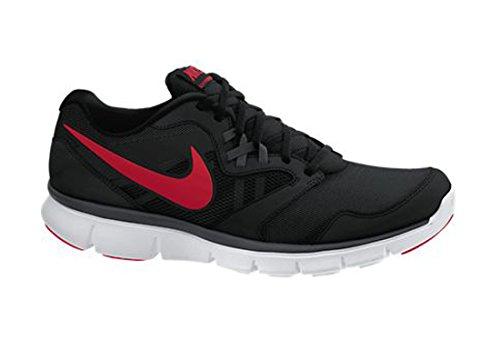Flex Experiencia Rn 3 para hombre Negro Rojo top del punto bajo de los zapatos corrientes atléticos Black / Anthracite / White / Red