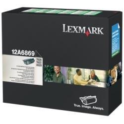 High Yield Prebate Print - Lexmark 12A6869 Black Toner Cartridge