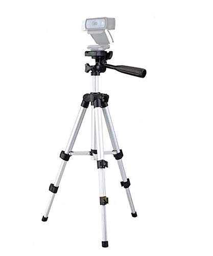 Medium Camera Tripod Mount Holder Stand for Logitech Webcam C930 C920 C615-Silver