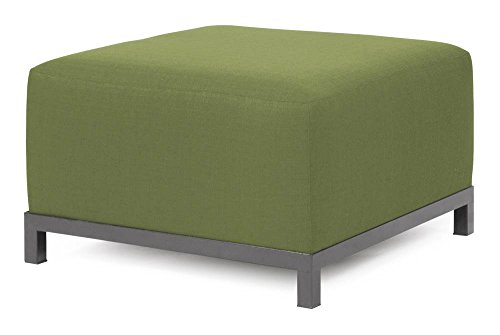 Howard Elliott Q902-908 Axis Ottoman Slipcover, Starboard Willow by Howard Elliott Collection