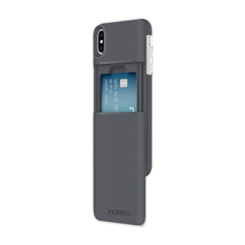 Incipio Stashback Wallet Case for iPhone Xs Max (6.5) with Heavy Duty Credit Card Compartment - Black