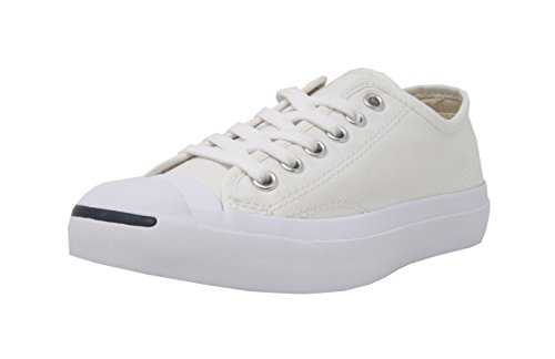 Converse Jack Purcell CP Canvas Low Top, White, Men's 9, Women's 10.5 Medium Converse Womens Jack Purcell
