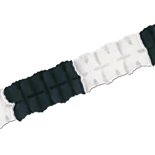 Beistle 55628-BKW Tissue Paper Leaf Garland, 4.5