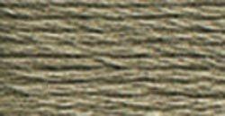 DMC 117-646 Six Stranded Cotton Embroidery Floss, Dark Beaver Gray, 8.7-Yard