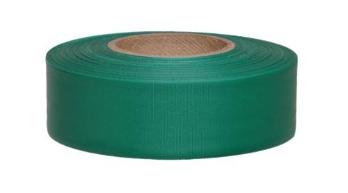 Presco tf1g-658300'de longitud x 2.5cm ancho, película de PVC, tafetán verde Rollo de color sólido flagging (paquete...