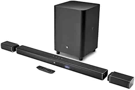 JBL Bar 5.1 Home Theater Starter System with Soundbar and Wireless Subwoofer with Bluetooth