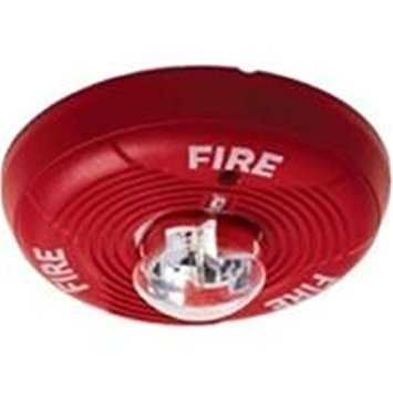 System Sensor PC2R 2 wire horn/strobe ceiling std candela red