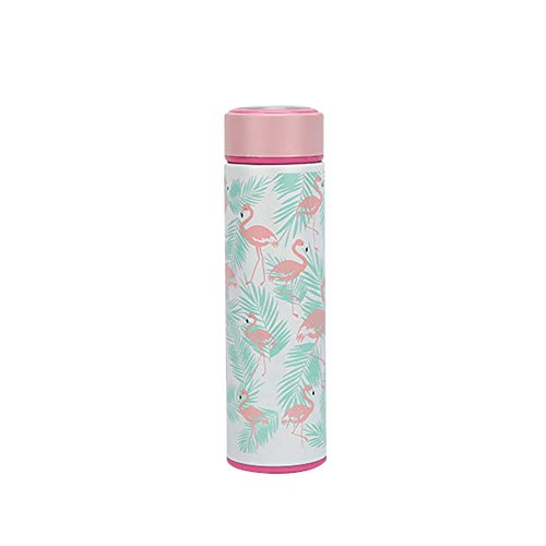 - eroute66 500ml Stainless Steel Mug Flamingo Cactus Vacuum Flask Thermal Bottle Water Cup Flamingo
