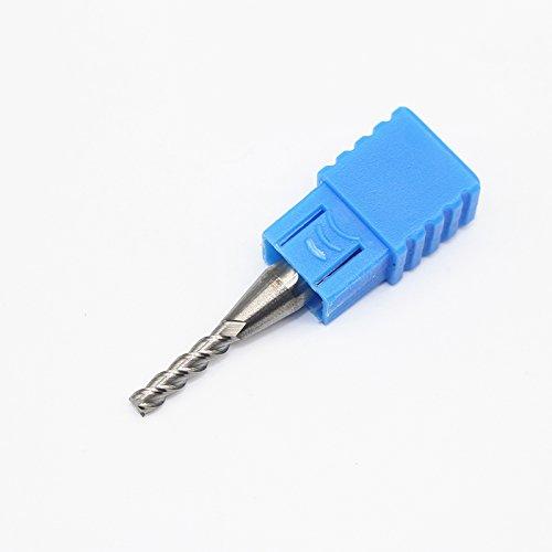 Best Garden Tools 1PCS 3mm Aluminum Milling Cutter ENDMILL D3X12LXD6X50L 3 Flute Aluminium End Mill Cutter Extended Milling Router Bit Cutters by Best Garden Tools