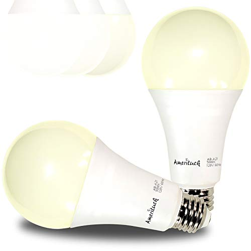 AmeriLuck 3-Way LED Light Bulb A21, 50-100-150W Equivalent (3000K | Warm White, 2 Pack)