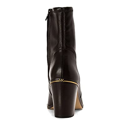 Michael Kors Michael Womens Chase Ankle Boot, Dark Brown, Size 9.0 US/7 UK US 6